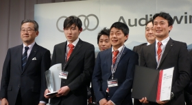 Audi高松、テクノロジー部門で日本一に輝く!「Audi Twin Cup 2017 Japan Final」
