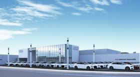 【県内最大】アウディ認定中古車センター AAA岡山中央 12月新規オープン