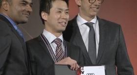 世界大会への切符掴む! Audi徳島 山田 敬太がテクノロジー部門3位入賞。【Audi Twin Cup Japan Final】